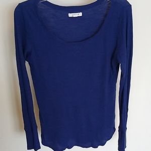 Aerie Blue Thermal Top